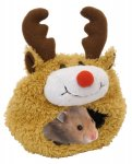 Rosewood Reindeer Hamster Bed £2.99 @ Amazon   (add on item / £10 spend)
