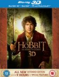 The Hobbit: An Unexpected Journey - Extended Edition 3D (Includes 2D Version and UltraViolet Copy) Blu-ray £14.99 Zavvi