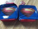 FOR SALE - BOYS SUPERMAN LUNCH BAG LAST BUMP