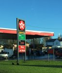 Unleaded 110.9 & diesel 117.9 @ Texaco on A41 Grindley Brook, nr Whitchurch