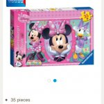 Minnie Mouse 35 piece puzzle £2.67 @ Tesco Direct free click and collect