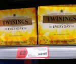 Twinnings Everyday 80 tea bags £2 (was £3.49) @ Morrisons