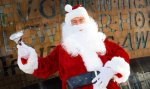 Kids meet Santa for Free Wales millenium centre
