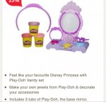 3 tubs of Play doh amulet and jewels set £3.75  @ Tesco LOW STOCK