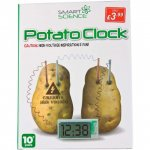 SMART SCIENCE POTATO CLOCK £3.99 INSTORE & ONLINE @ Poundstretcher