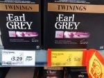 100 Twinings Earl Grey teabags £3 at Asda