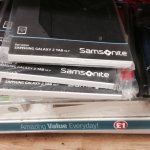 Poundland (instore) Samsonite - Samsung Galaxy tab 2 ( £1)leather protective cases,leather stands covers .size - 10.1 so should for all 10 inch tablets