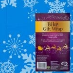 Jumbo Bike Christmas Gift Wrap from Poundland - easily wrap Bike / Scooter / Dolls Pram / Other Large Gift