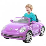 Battery Operated Beetle Car Boys Green/Girls Purple £49.96 - (£44.96 with online code) @ ToysRUs