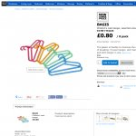 IKEA Children's Coat-hanger 8 pack 80p wa £1.30