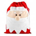 BIG Embroidered Christmas Santa Sack £1.00@ Poundland :)
