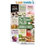 The Ultimate Paleo Bundle; Paleo Breakfast, Paleo Lunch, Paleo Ice Cream, Paleo Frozen Desserts, Paleo Baking, Paleo Pizza, Paleo Night Snacks. 3.94 @ Amazon (kindle)