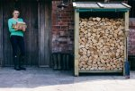 WIN a log store worth £300 from Certainly Wood @ Countryfile