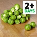 500g Brussels Sprouts only 9p for deliveries/collections from TESCO
