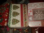 Small rectangular Christmas tins in 3 designs 59p @ Home Bargains