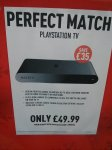 Sony Playstation TV £49.99 when purchased with PS4 Console @ Game