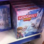 Frozen monopoly and frustration board games £12.99 @ B&M