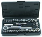 Rolson 36109 40 Piece Socket Set, Amazon, £4.38   (Add-on item Free Del £10 order)