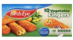 Birds eye 10 vegetable fingers - buy 1 get 1 free - £1.50 @ morrisons