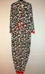 Holly Christmas fleece onesie .  Was £10 now £5 - Primark in store
