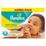 Pampers nappies 2x jumbo boxes of pampers new baby 74 in a box for £15 @ Tesco