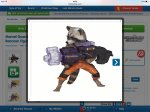 Rocket Raccoon from guardians of the Galaxy, home bargains £9.99