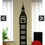 Big Ben wall sticker clock £6 at very