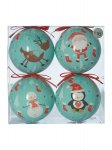 Linea decoupage baubles £4.80 @ House of Fraser