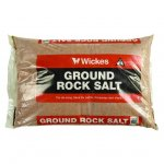 WICKES ROCK SALT 25KG £2.99 STORE COLLECTION
