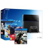 Playstation 4 Black 500GB Console + The Last of Us Remastered + Little Big Planet 3 + Drive Club + Watch Dogs - £349.99 Ratuken/Shopto (with code)