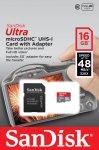 16GB Sandisk Ultra MicroSD Memory Card £5.99 (incl. postage) @ Ebuyer