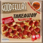 Goodfella's Takeaway Fully Loaded Pepperoni (553g) + Sweet Chilli Dip / Big Cheese (555g) + Garlic Dip - Was £3.90 Now £2 at sainsbury's
