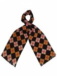 Fleece Argyle Scarf £5 (was £12) from EWM