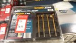 work zone 4 piece multi angle drill bit set Reduced from £12.99 to £6.99 @ aldi