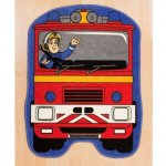 Character World Fireman Sam Hero Shaped Rug @ Amazon £6   (free delivery £10 spend/prime)