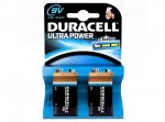 ** DURACELL Ultra Power 9V Alkaline Batteries (Pack of 2) only 97p @ Currys **