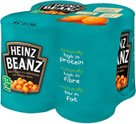 Heinz Baked Beans in Tomato Sauce (4x415g) 2 for £3 and Heinz Spaghetti in Tomato Sauce (4x400g) 2 for £3 (Others varieties listed in description) @ Asda