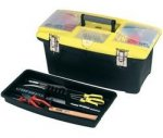Stanley Jumbo Toolbox 16-inch with Tray £10.31 Amazon Free Delivery