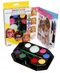 Snazaroo Face Paint Kit - Rainbow £6.25 (P&P or Prime) @ Amazon