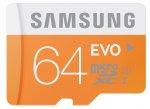 Samsung Memory 64GB Evo MicroSDXC UHS-I Grade 1 Class 10 Memory Card - £20.86 - Amazon