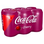 Iceland 12 cans for £3 Cherry Coca-Cola etc