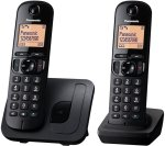 PANASONIC KX-TGC212EB Cordless Phone - Twin Handsets £29.99 @ currys was £44.99