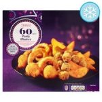Tesco Frozen 60 Party Platter 730G Now Only £3.00 @ Tesco