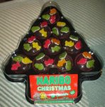 Haribo Cupcakes 12 in xmas tree shaped tray £2.50 @ Asda