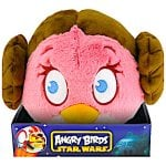 "Angry Birds Star Wars Plush Large (believe they are 8"" ones) boxed, IN STORE £2.99 at B&M"