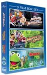 3 Film Box Set: Muppets Take Manhattan / Muppets From Space / Kermit's Swamp Years £3.00 @ Amazon (Free delivey with prime or £10 spend)
