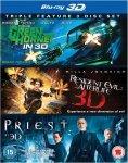 The Green Hornet 3D/Priest 3D/Resident Evil Afterlife 3D £11.99 @ The Hut