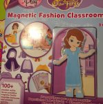 Sofia the first magnetic dress up doll and classroom £5.99 @ home bargains