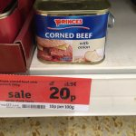 Corned beef 20p @ Sainsburys