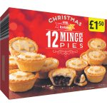 12 mince pies 1.50 Iceland